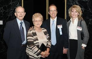 Glenn Graner of K&L Gates LLP  was joined by his wife, Linda, and his parents, John and Joan, at the CFO of The Year Awards Nov. 8, 2012.