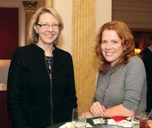Karen Porier, left, and Lois Bradley of Bradley Partnerships Inc.