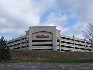 Meadows Racetrack and Casino in North Strabane had $2.69 million in revenue from 79 tables compared to $2.61 million in revenue from 71 tables in April 2011.