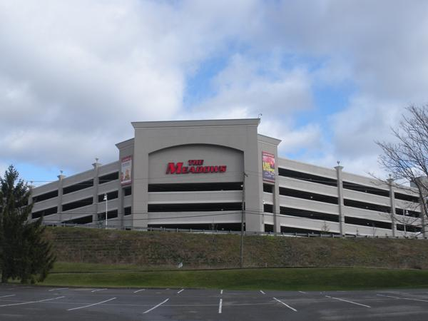 The Meadows Racetrack and Casino said Thursday that its economic impact in 2012 was about $257 million, up 6 percent from a year ago.