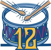 Twelve drummers drumming, which is the gift for the 12th day of Christmas: The price is up 3 percent to $2,629.90 compared to 2010, according to the 2011 PNC Christmas Price Index.