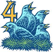 Four calling birds are the same price they were a year ago. They will run you $519.96.