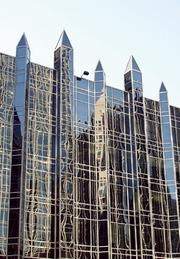 One PPG Place ranked No. 5 on the Pittsburgh Business Times' list of the largest Downtown office buildings.