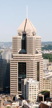 Fifth Avenue Place ranked No. 7 on the Pittsburgh Business Times' list of the largest Downtown office buildings.