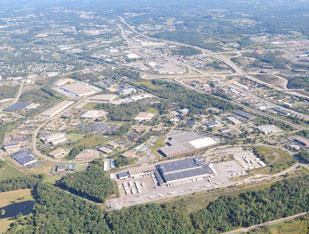 RIDC Thorn Hill in Marshall Township in Allegheny County and Cranberry Township in Butler County, No. 1 on the List of 25 Largest Pittsburgh-area Industrial Parks.