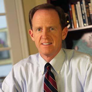 Sen. Pat Toomey, R-Pa., was one of the members of the Congressional supercommittee that was expected to announce today that it wasn't able to meet its Nov. 23 deadline.