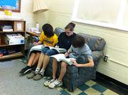 Sixth-graders from Washington Elementary School do some work in their reading/language arts class. The school is in the Kiski Area School District, which ranked No. 28 on the honor roll rank of local public districts.