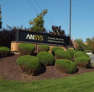 The current headquarter at Southpointe for Ansys Inc. (NYSE: ANSS).