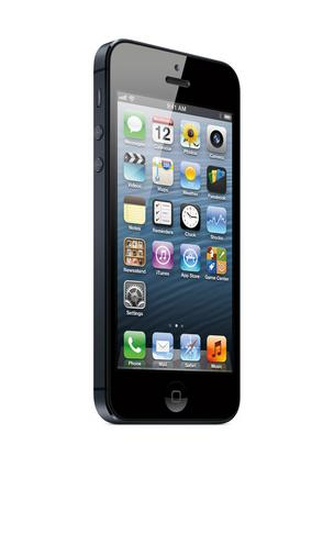 The Apple iPhone 5, which is helping to increase mobile e-commerce.