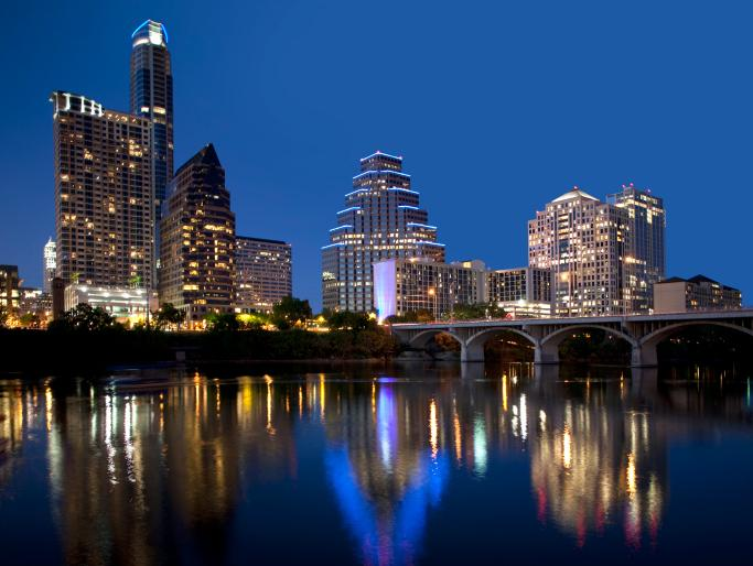 Forbes has named Austin as America's fastest-growing city for the third year in a row.