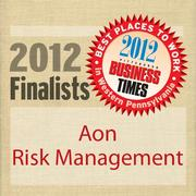 Aon Risk Solutions is a finalist in the 2012 Best Places to Work in Western Pennsylvania Awards sponsored by the Pittsburgh Business Times.
