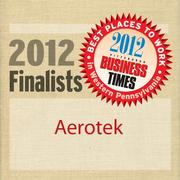 Aerotek is a finalist in the 2012 Best Places to Work in Western Pennsylvania Awards.