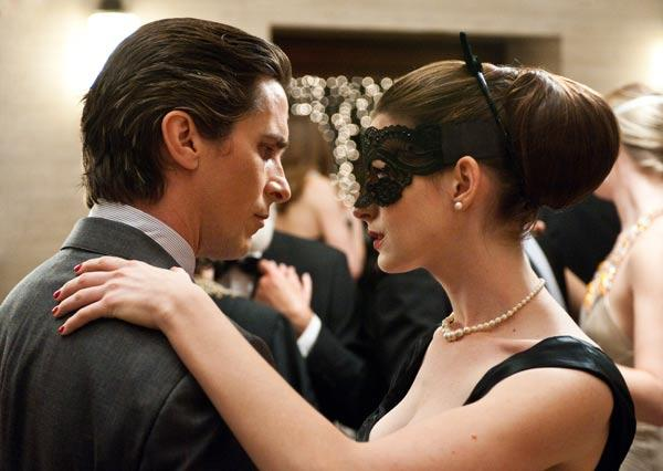 """Christian Bale, left, and Anne Hathaway from """"The Dark Knight Rises."""" Pittsburgh is declaring Thursday, July 19, as """"Dark Knight Rises Day"""" in Pittsburgh, where some of the film was made."""