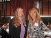 From left: Barb Martinelli of ESB Bank and Terry Gerst of ESB Bank on Wednesday, July 13, at the Business for Breakfast networking event held at McCormick & Schmick's Restaurant on the South Side in Pittsburgh. The event was sponsored by Horovitz, Rudoy & Roteman LLC and McCormick & Schmick's and presented by the Pittsburgh Business Times.