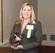 Natalie Abel of Energy Savers Inc., a winner of the Pittsburgh Business Times 2012 Women in Business Awards.