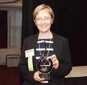 Olga Lagunova of CA Technologies, a winner of the Pittsburgh Business Times 2012 Women in Business Awards.