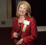 Rebecca U. Harris of the Center for Women's Entrepreneurship at Chatham University, a winner of the Pittsburgh Business Times 2012 Women in Business Awards.