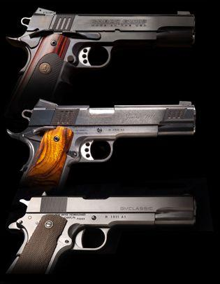 Penn United Technologies is teaming up with the newly formed Cabot Gun Co. to manufacture a line of 1911 pistols, pictured above, at Penn United's plant in Cabot, Pa.