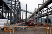 United States Steel Corp.'s Clairton coke oven battery project has employed 240 construction workers and is expected to peak with a construction workforce of more than 500 in the next four to five months. Once operational, the plant will add 71 new steelworker positions. It's expected to be up and running by November 2012.