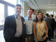 From left: Rich Inman of Regency Transportation in Pittsburgh, Paul A. Cera of Risk | Solve Consultants and Joyce Salizzoni of Pittsburgh.
