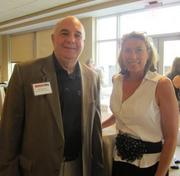 From left: T. William Signorelli of Security America Inc. in Charleston, W.Va., and Denise Springer of Security America.