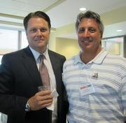 David Koch of CBRE, left, and Lou Oliva of Newmark Grubb Frank in Pittsburgh.