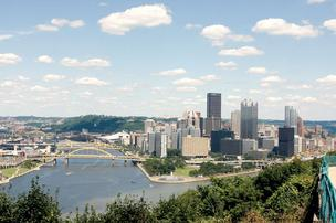 The Pittsburgh region's unemployment rate fell to 6.7 percent in February 2012.