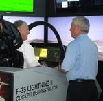 F-35 cockpit simulator makes stop in Pittsburgh