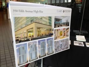 Oxford Development Co. has a proposed plan to build a 33-story skyrise downtown.