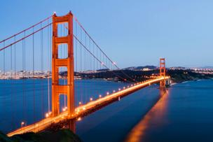 San Francisco is a popular destination for both business and leisure travelers from the Triangle.