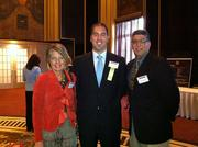 Andre Barnabei, center, one of the winners of the 2011 Human Resource Leadership Awards handed out by the Pittsburgh Business Times, attended Wednesday's event with his parents, Patti and Joe Barnabei.  A special luncheon was held Wednesday at the Omni William Penn to honor the 13 winners.
