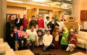 Here's the Halloween spirit at 4moms, including someone dressed as late Apple co-founder and CEO Steve Jobs.