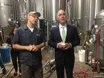 Casey touts cutting excise tax on small brewers (Video)