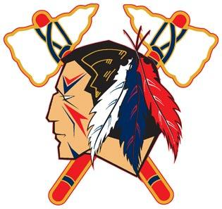 The new logo for the Johnstown Tomahawks, the new North American Hockey League team that will move from Alaska to western Pennsylvania.