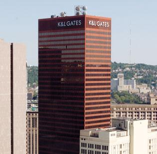 K&L Gates LLP, with gross revenue of $1.06 billion, was 17th, up 0.6 percent from the prior year when it ranked 16th.