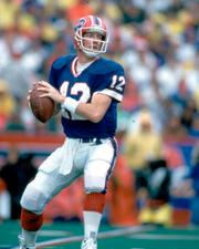 An artifact from the career of East Brady native Jim Kelly is included in the exhibit.