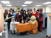 """A photo of """"the fun we have on Halloween at Knichel Logistics,"""" said Knichel Logistics human resource manager Tina Nickl. Knichel Logistics is located in Gibsonia."""