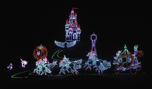 all of the displays at the oglebay festival of lights in wheeling wva - Oglebay Christmas Lights