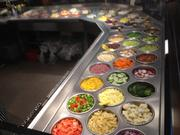 Hello Bistro offers more than 60 salad fixings.