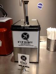 Hello Bistro boasts of ranch dressing addictive enough to warn diners to not dive into it.