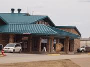 The terminal building at Arnold Palmer Regional Airport in Latrobe, Pa.
