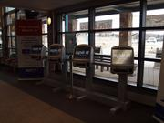 Spirit Airlines recently installed automated ticketing devices at Arnold Palmer Regional Airport in Latrobe.