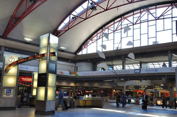 There was a string of weather-related cancellations at Pittsburgh International due to Hurricane Sandy, the airport said.