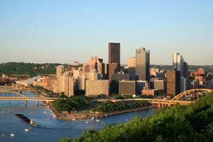 The Pittsburgh Downtown Partnership has as MC at its annual meeting Tuesday a new resident of downtown Pittsburgh.