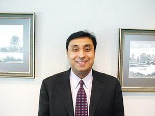 Venkee Sharma of No. 5 Aquatech International Corp.