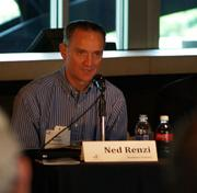 Ned Renzi of Birchmere Ventures speaks Wednesday afternoon at the 3 Rivers Venture Fair at PNC Park.