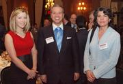 Elizabeth Williamson of TrueFit, Christopher Evans of TrueFit and Lori Melchiorre of Bradley Brown Design Group during the Pittsburgh Business Times' Vision Pittsburgh event Wednesday, March 7, 2012, at the Duquesne Club in Downtown Pittsburgh.