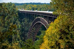 West Virginia's New River Gorge. Population in the Mountain State has only grown about 500 people in 2012, according to the U.S. Census Bureau.