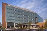 UPMC East in Monroeville uses PPG's Solarban 70X, Solarban 60 and Solargray glasses to increase energy efficiency. The 3,000 square-foot hospital is LEED Silver certified through the U.S. Green Building Council.