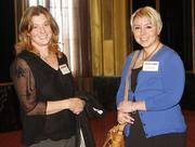 Heather Killeen of The Sewickley Spa, left, and Jonelle Connelly of The Sewickley Spa at the 2012 Business Women First reception Thursday, March 15, at the Omni William Penn Hotel in Downtown Pittsburgh.